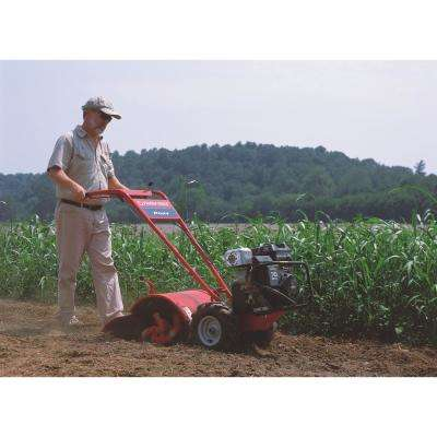Pony 16 in. 250 cc OHV Electric Start B&S Engine Rear-Tine Forward-Rotating Gas Tiller with One Hand Operation
