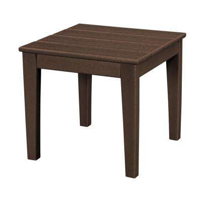 Polywood outdoor side tables patio tables the home depot for Outdoor furniture end tables