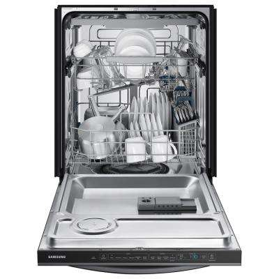 24 in. Tall Tub Top Control Stormwash Dishwasher in Black Stainless with AutoRelease Dry, 48 dBa