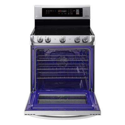 6.3 cu. ft. Electric Range with ProBake Convection Oven and EasyClean in Stainless Steel