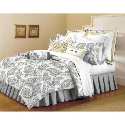 Classic Trends Gray/Yellow 5-Piece King Comforter Set