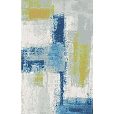 Fusion Abstract Multi 2 ft. x 3 ft. 6 in. Indoor Area Rug