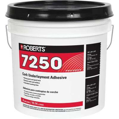 4-gal. Pail of Pro Grade Cork Underlayment Adhesive