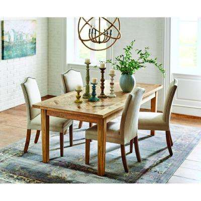 Parquetry  Light Brown Wood   Kitchen   Dining Tables   Kitchen   Dining Room  . Safavieh Ludlow Dining Table. Home Design Ideas