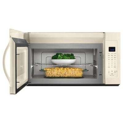 1.9 cu. ft. Over the Range Microwave Hood in Biscuit