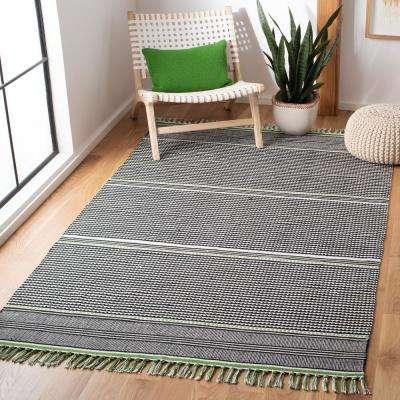 Montauk Green/Multi 5 ft. x 8 ft. Area Rug