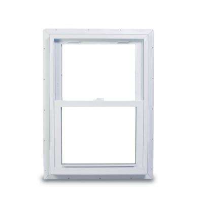 37.75 in. x 56.75 in. 70 Series Double Hung Fin Vinyl Window - White