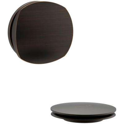 PureFlo Cable Bath Drain Trim with Basic Rotary Turn Handle in Oil Rubbed Bronze