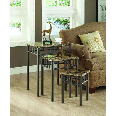Monarch Specialties Accent Tables Living Room Furniture The - Cappuccino coffee table