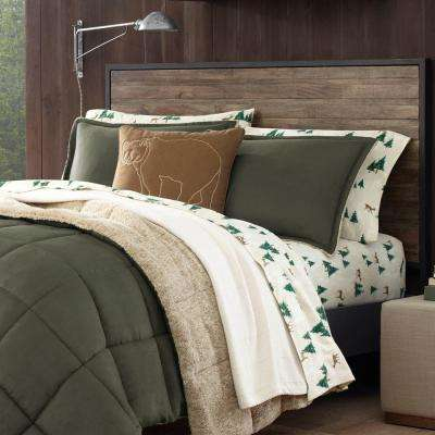 3-Piece Sherwood Green Full/Queen Comforter Set