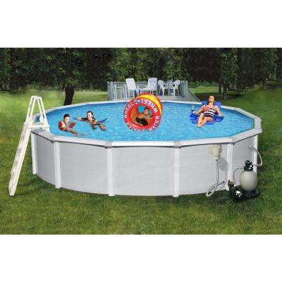 Samoan Round Pool Package 48 in. D