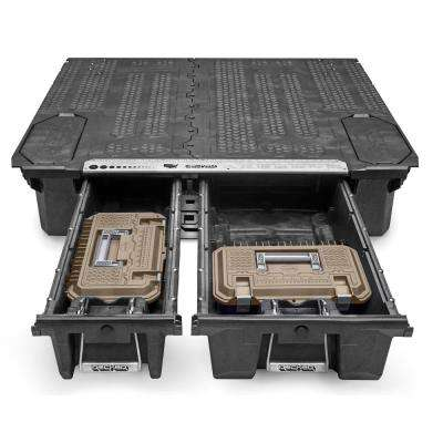 Crossbox 17 in. Drawer Tool Box with Desert Tan Lid