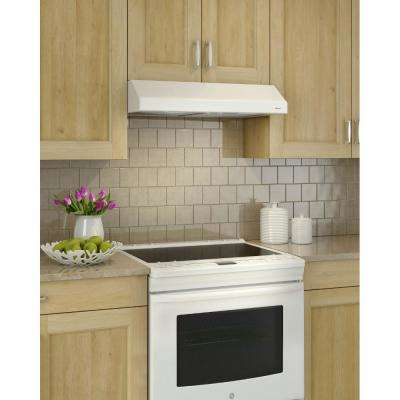 Glacier 30 in. Convertible Range Hood in White ENERGY STAR Qualified