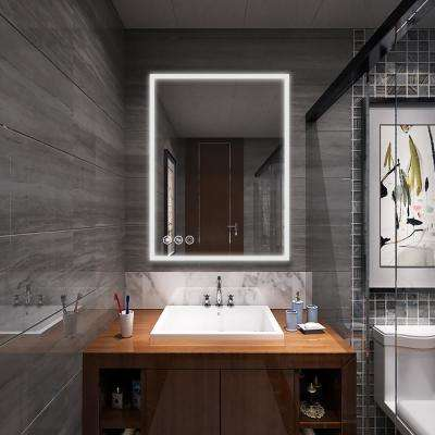 48 in. x 36 in. Frameless Led Lighted Bathroom Wall Mounted Mirror