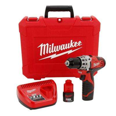 Reconditioned M12 12-Volt 3/8 in. Driver Drill Kit