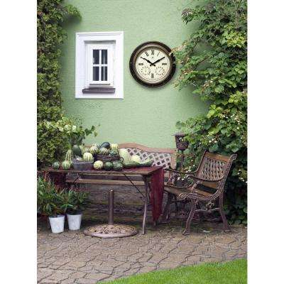 The Forecaster 16 in. x 16 in. Round Wall Clock
