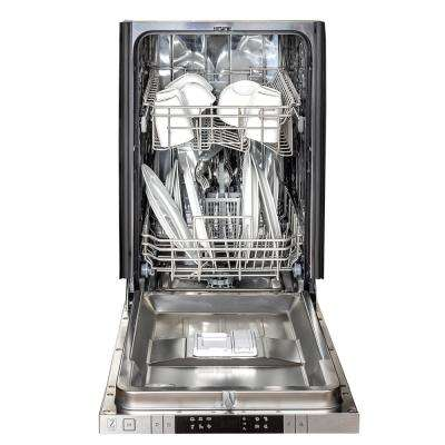 18 in. Top Control Dishwasher in Custom Panel Ready with Stainless Steel Tub