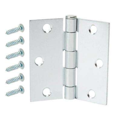 2-1/2 in. Zinc Plated Broad Loose Pin Hinge