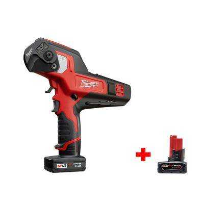 M12 12-Volt Lithium-Ion Cordless 600 MCM Cable Cutter Kit with Free M12 12-Volt Lithium-Ion XC 4.0Ah Battery