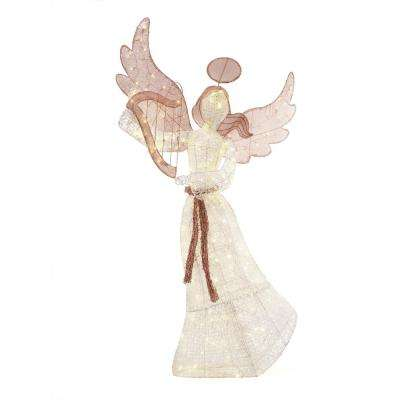 70IN 210L LED PVC ANGEL AND STAR