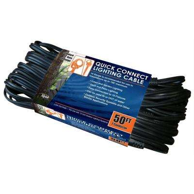 10 Sockets Lighting Cable 50 ft. and 14 Gauge