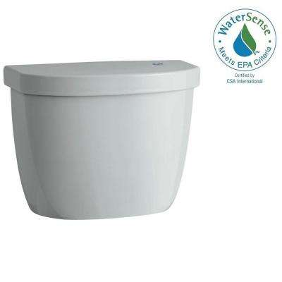 Cimarron Touchless 1.28 GPF Single Flush Toilet Tank Only in Ice Grey