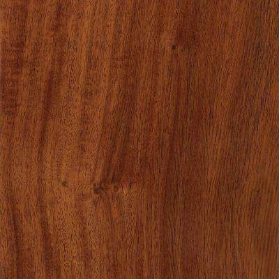 Santos Mahogany 3/8 in. T x 5 in. W x Varying Length Click Lock Exotic Hardwood Flooring (26.25 sq. ft. / case)