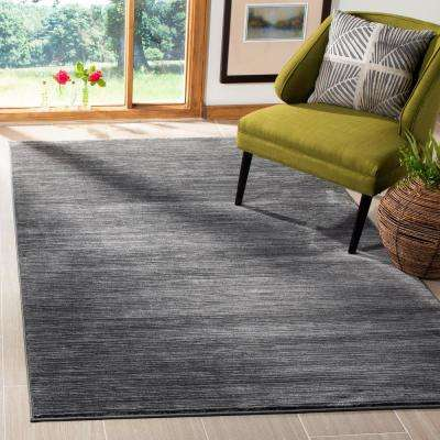 Vision Gray 5 ft. x 5 ft. Square Area Rug