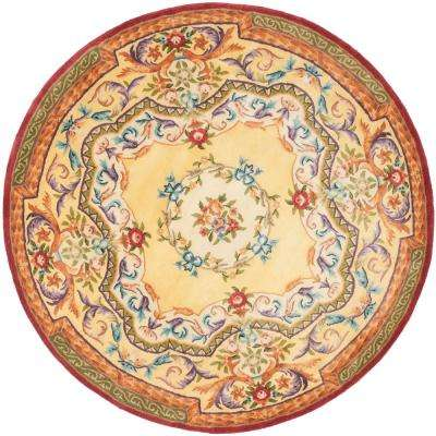 Empire Gold 6 ft. x 6 ft. Round Area Rug