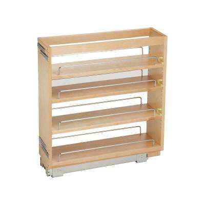 6.5 in. Pull-Out Wood Base Cabinet Organizer