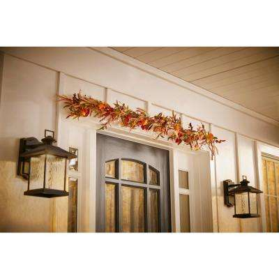 6 ft. Harvest Indoor Chinese Lantern Garland