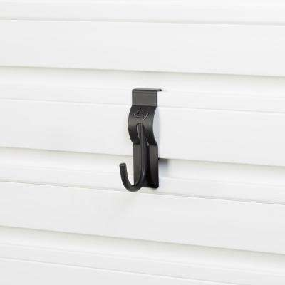 Slat Wall and Track 2 in. J Hook (3-Pack)