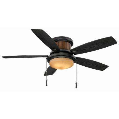 Roanoke 48 in. Indoor/Outdoor Iron Ceiling Fan