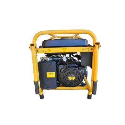 5,000-Watt Gasoline Powered Portable Generator with Wheel Kit