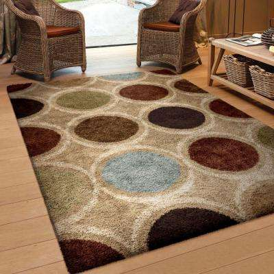Marble Multi 5 ft. x 8 ft. Indoor Area Rug