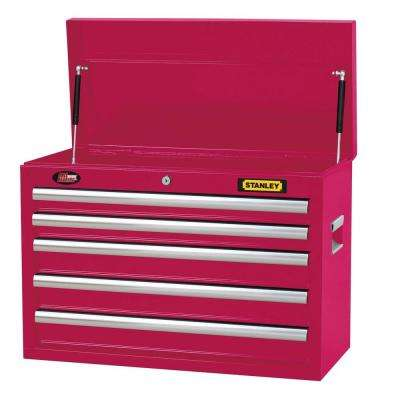 26 in. 5-Drawer Tool Chest in Wide Hot Pink