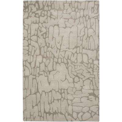 Fusion Beige 5 ft. x 8 ft. Print Area Rug-DISCONTINUED