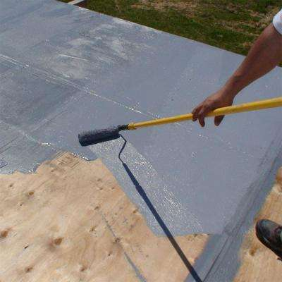 5 Gal. Grey Super Elasto-Barrier Multi-Purpose Elastomeric Base Primer Roof Coating