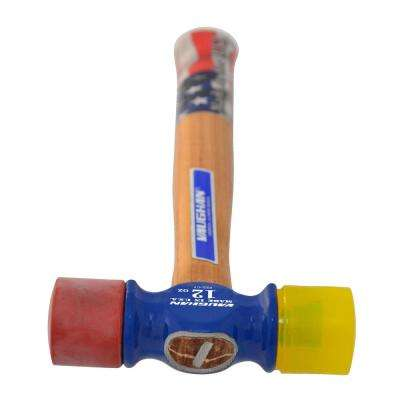 12 oz. Soft Face Mallet with 12 in. Hickory Handle
