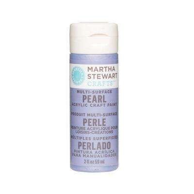 2-oz. Twilight Blue Multi-Surface Pearl Acrylic Craft Paint