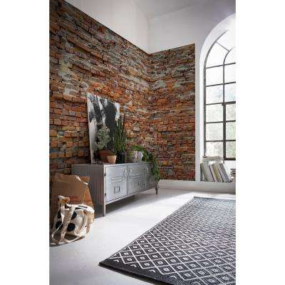 98 in. H x 145 in. W Bricklane Wall Mural