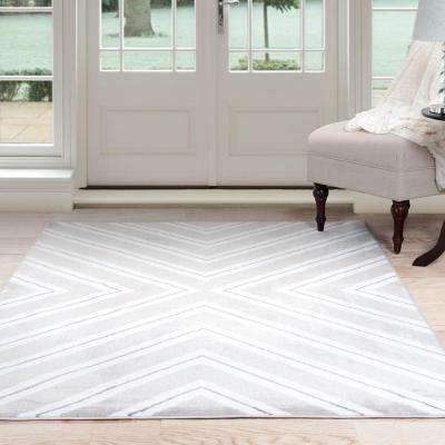 Kaleidoscope Grey 8 ft. x 10 ft. Area Rug