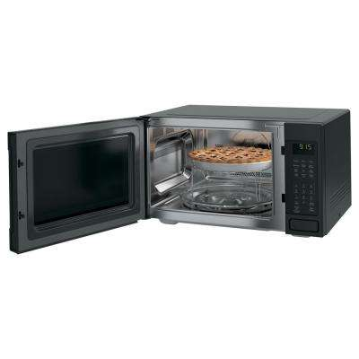 Profile 1.5 cu. ft. Countertop Convection Microwave in Black