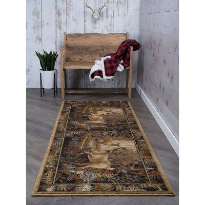 Nature Beige 3 ft. x 10 ft. Runner Rug