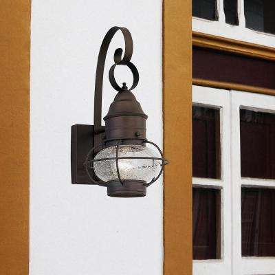 Nantucket Rustique Outdoor Wall-Mount Lantern