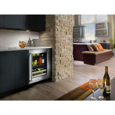 24 in. W 14-Bottle Wine Cooler
