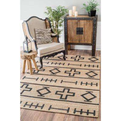 Barry Natural 6 ft. x 9 ft. Area Rug