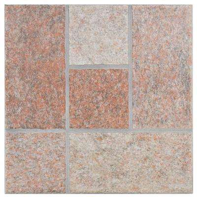 Celtica Cotto 13-1/2 in. x 13-1/2 in. Porcelain Floor and Wall Tile (14 sq. ft. / case)