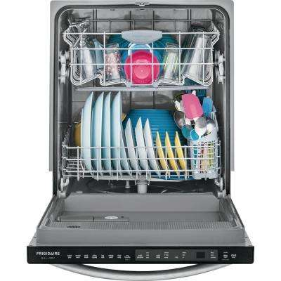 Top Control Built-In Dishwasher with OrbitClean Spray Arm in Smudge Proof Stainless Steel, ENERGY STAR, 52 dBA