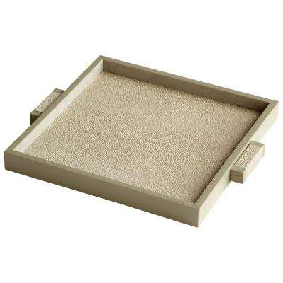 Prospect 1 in. x 12 in. Shagreen Small Tray